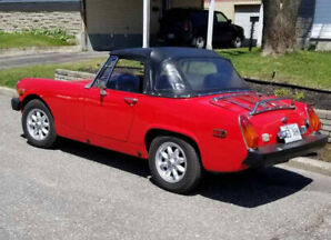 MG midget - 1976 - en bonne condition