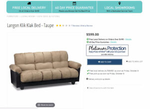 Brand New Sofa Bed Couch For Sale!!!
