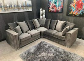 Alaska Corner Sofa With Scatter Back Cushions