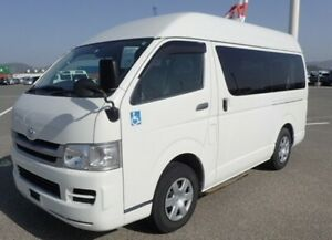 2009 Toyota Hiace Van, LOW KMS, HIGH ROOF, ideal for campervan, automatic!!! Yorklea Richmond Valley Preview
