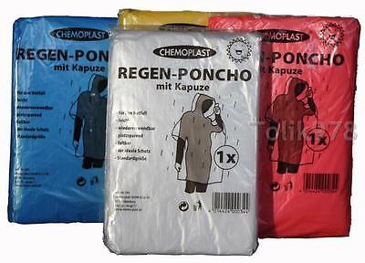 ze Regenjacke Regenmantel Unisex Regenschutz universell NEU  (Regenmantel Poncho)