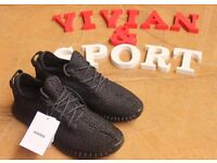 Adidas yeezy 350 boost Private Black best quality come with box -0