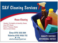 S&V Cleaning Services - Cleaner