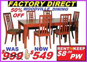 New Dining Suite 7 Piece Cash $549 Or Rent To Keep $8 PW Ipswich Region Preview