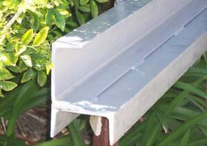 Retaining Wall Post Corner 2.4mtr Galvanised