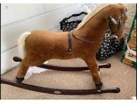 Silvercross rocking horse (vintage)