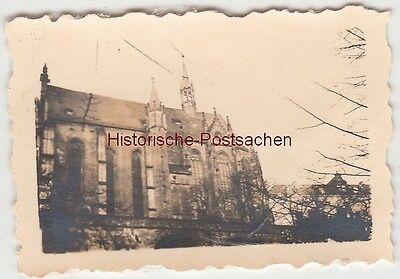(F13528) Orig. Mini-Foto Altenburg Thür., Schlosskirche 1940er