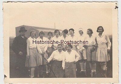 (F12451) Orig. Foto Damen des DSC 99 Düsseldorf 1931, Hockey
