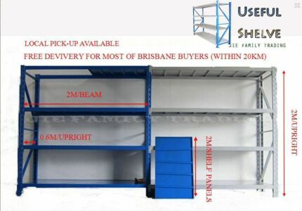 Brand New & High Quality Garage Warehouse Shelf Rack, Shelving Sunnybank Brisbane South West Preview