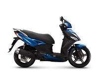Kymco City 50+ 50cc 2T scooter, 2 years parts and labour warranty only £1,671
