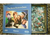 The Seven Faces of John 1000 Piece Puzzle