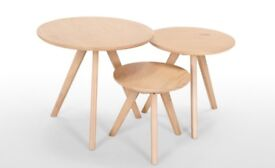 Side Table Natural Pine BRAND NEW from MADEdotCOM
