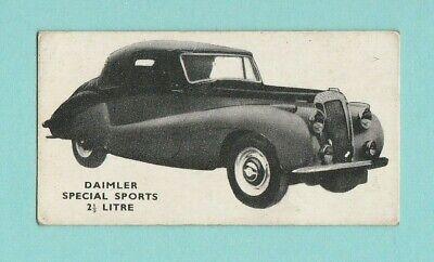 CARS - KELLOGG'S - MOTOR CARS BLACK & WHITE - NO. 15  -  DAIMLER  -  1949 na sprzedaż  Wysyłka do Poland