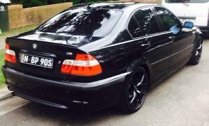 BMW318i  BLACK SPORT . 4 Cyl Merrylands Parramatta Area Preview
