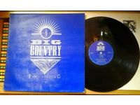 Big Country – The Crossing, VG, released on Mercury in 1983, Post Punk New Wave Vinyl LP