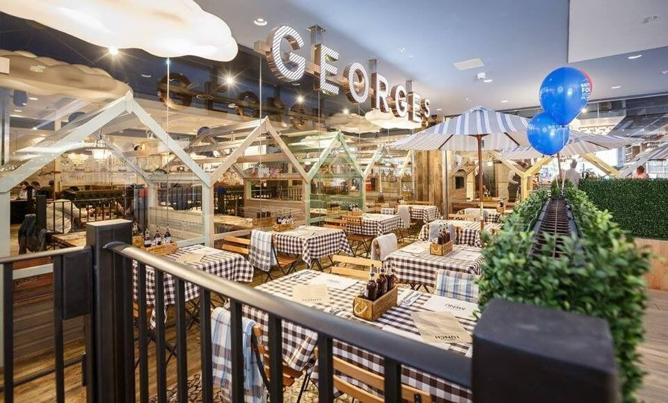 George S Great British Kitchen Newcastle Opening
