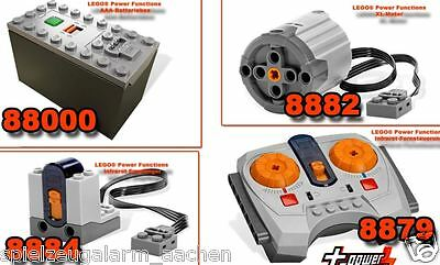 LEGO Technic Remote Controle Power Functions 8882 8884 8879 88000 IR RC XL Motor