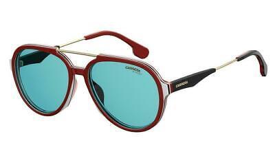 Carrera AVIATOR Unisex Sunglasses CA 1012/S 6K3 Burgundy Black Gold/Blue NEW 56 (Carrera Sunglasses Black Gold)