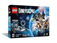 Lego dimensions for xbox starter pack + 3 level packs worth £60