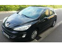 Peugeot 308 Automatic 2010 low mileage