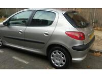Automatic Peugeot 206 1.3Lx 5door good condition.a