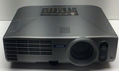 EPSON EMP-830 PORTABLE LCD PROJECTOR - Tested and Working 174 Lamp Hours