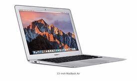 "APPLE MACBOOK AIR 13"" 2015/16 1.6GHZ I5 128GB SSD 4GB RAM SOFTWARE OFFICE ADOBE CS6"