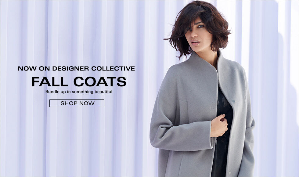 FALL COATS ON DESIGNER COLLECTIVE