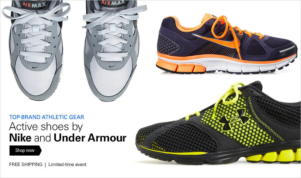 TOP-BRAND ATHLETIC GEAR