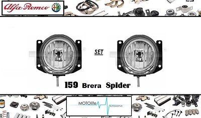ALFA ROMEO BRERA SPIDER 159 ONWARDS FRONT FOG LIGHTS LAMPS PAIR LEFT /& RIGHT