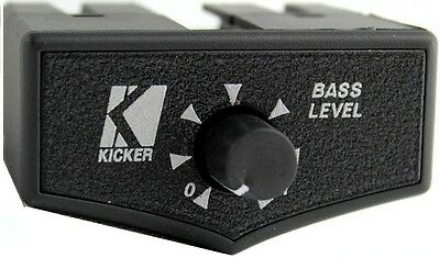 New Kicker ZXRC Bass Remote Control Knob For KX ZX IX ZXM Amplifiers 10ZXRC