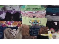 Girls very large clothes bundle age 6-7 years