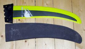 Select SuperFoil 50 fin. 50cm Windsurfing fin, Deep Tuttle box, vgc, Sailboarding, windsurfer
