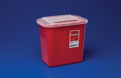 3 Pack Sharps 2 Gallon Biohazard Container Needle Disposal Doctor Tattoo Sharp