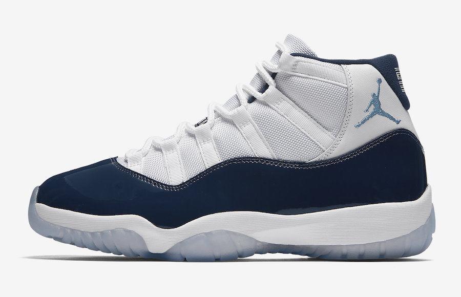 official photos 8d06b db34f Nike Air Jordan 11 XI Retro size 15 Midnight Navy White Win Like 82.  378037-123.