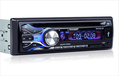 Car Bluetooth Music MP3 DVD CD LCD Player Radio Dual Video Output AUX Audio USB