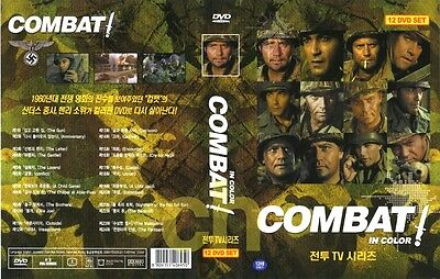 Combat - TV Series in Color (1966 - 12 DVDs boxed set / DVD)