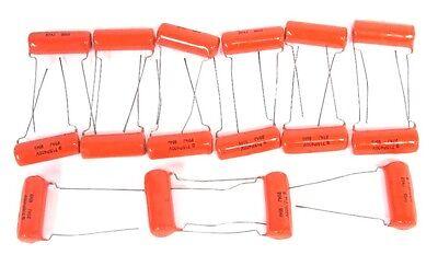 Lot Of 16 New Bentel Cgs Resistors 715p400v Capacitors