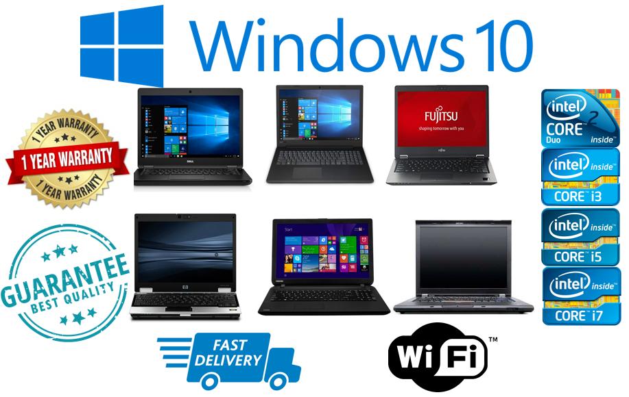 Laptop Windows - CHEAP SUPER FAST Core 2 i3 i5 i7 LAPTOP WINDOWS 10 4GB/8GB RAM HDD/SSD FREE GIFT