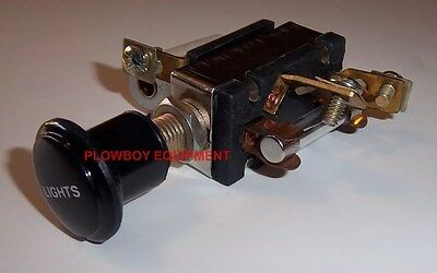 Ab2687r Af687r 3 Position Light Switch 6 Volt For John Deere Jd Tractor A B D G