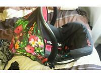 Cosatto tropico car seat with rain cover
