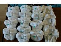 Totsbots Reusable Bambo Nappies and Wraps size 1.