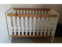 Nursery furniture - cot and wardrobe