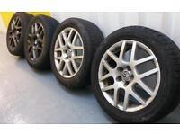 "Genuine VW/BBS 16"" Montreal alloy wheels 5x100 Audi Seat skoda Toyota"