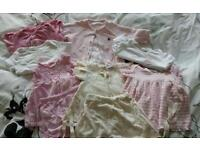 Baby girls bundle of designer clothes