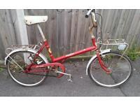 Vintage puch bicycle