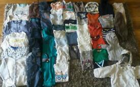 49 clothes for baby boy 9-12 month old