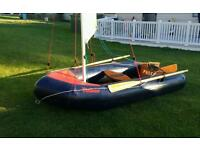 TINKER FUNSAIL INFLATABLE SAILING DINGHY