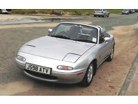 Mazda MX5 / Eunos Roadster, 1.6L 16V, new softtop, great drive