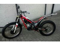 GAS GAS TXT PRO 250cc 2012 TRIALS BIKE